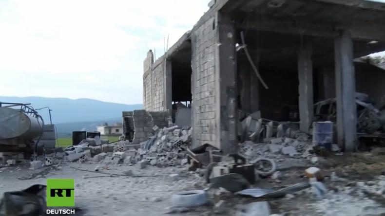 Syrien: Video soll Zerstörung in Afrin zeigen - Türkische Militäroperation geht unterdessen weiter