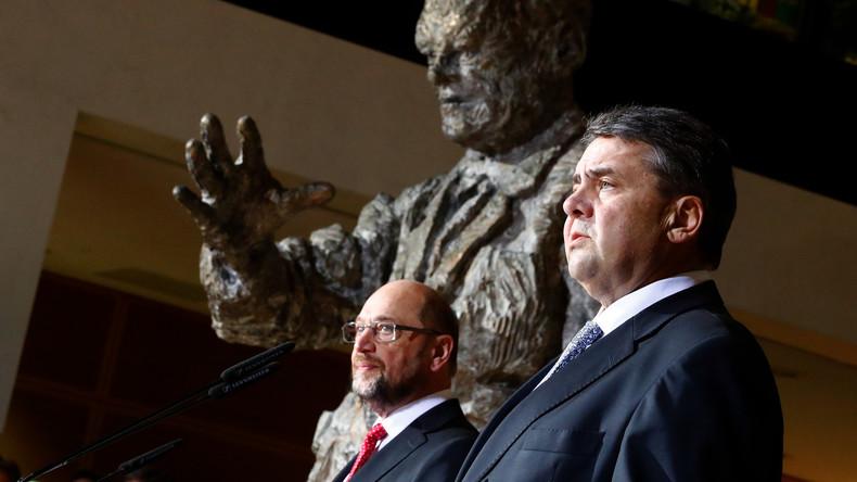 Gabriel versus Schulz: Das Ende einer politischen Allianz in Bildern