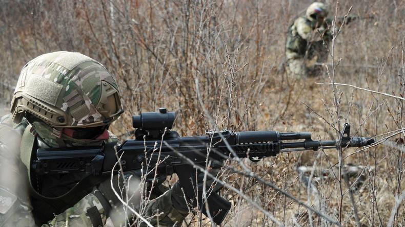 Zwei bewaffnete Terroristen bei Anti-Terror-Einsatz im Nordkaukasus getötet [VIDEO]