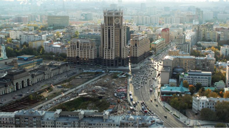 """Yandex adelt eine Baugrube in Moskau zum """"Naturreservat"""""""