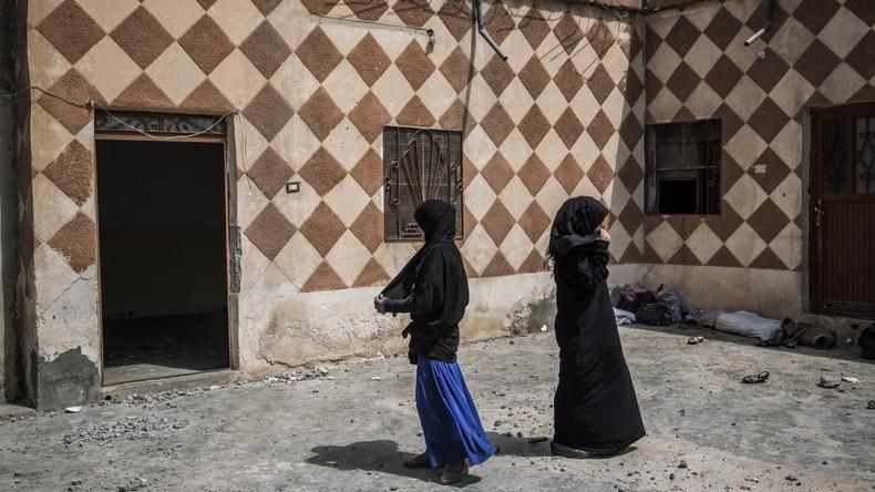Bericht: 15 deutsche IS-Frauen im Norden Syriens inhaftiert