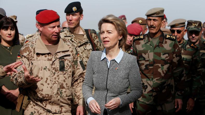 Ursula von der Leyen: Bundeswehr soll künftig den ganzen Irak gegen IS-Terror unterstützen
