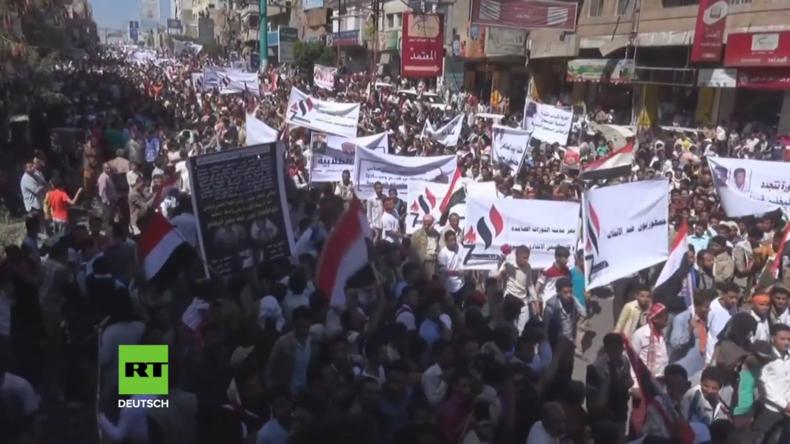 Jemen: Tausende feiern den sechsten Jahrestag des Aufstandes