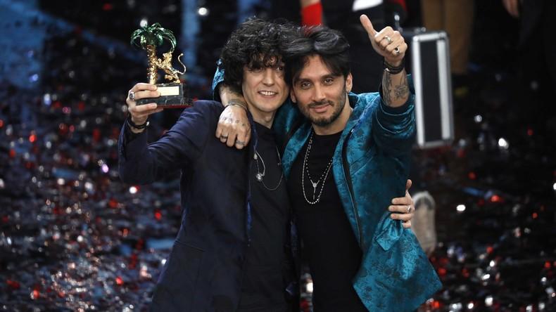 Italien: Lied über Terroranschläge in Europa gewinnt Sanremo-Musikfestival