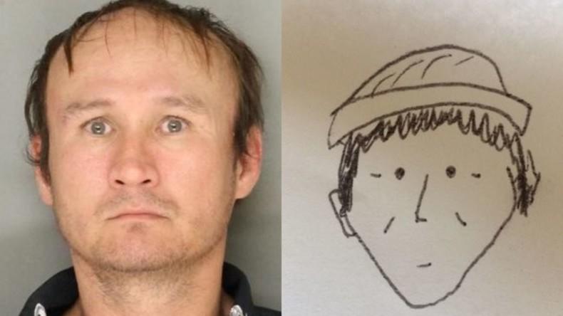 Zeuge zeichnet sehr schlechtes Porträt des Verdächtigen: Das reicht, um ihn zu identifizieren