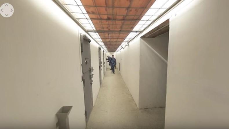 360° Videoreportage aus  Wladimirskij Zentral: Einer der berüchtigsten Haftanstalten Russlands
