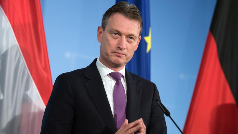 Niederländischer Außenminister gesteht, über Treffen mit Putin gelogen zu haben
