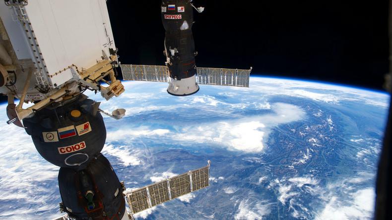 Russischer Raumfrachter mit deutscher Technik zur Internationalen Raumstation gestartet