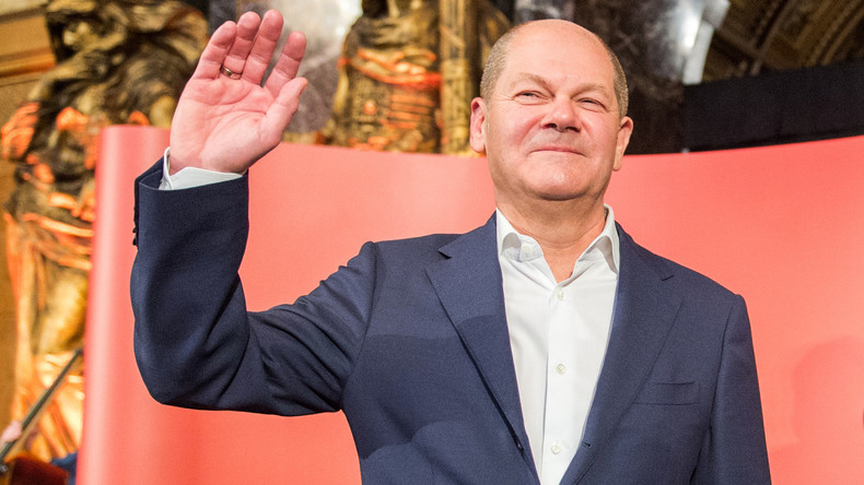 Olaf Scholz wird kommissarischer SPD-Chef