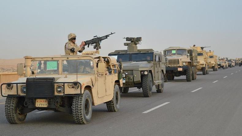 Ägyptische Armee nimmt 400 Terrorverdächtige bei Antiterroreinsatz fest