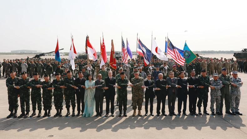 USA verdoppeln beinahe ihr Kontingent bei jährlichen Militärübungen in Thailand