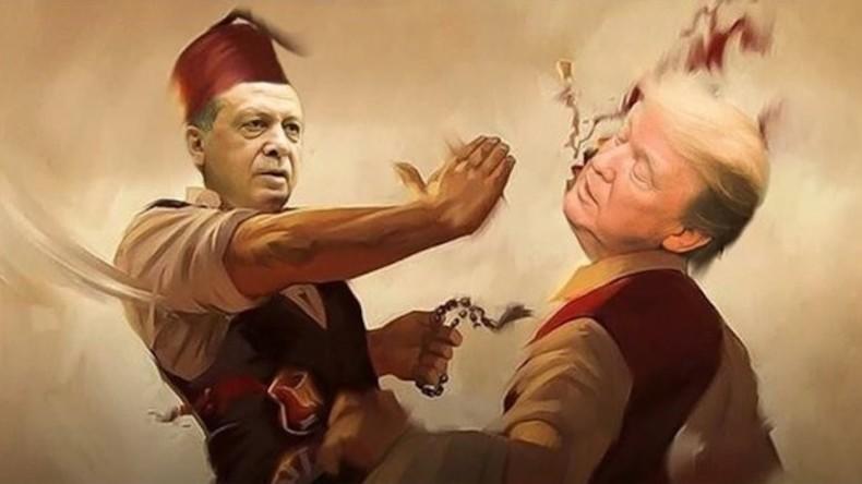 """Erdogan beklagt fehlende Gleichstellung in der NATO - und droht den USA """"Osmanische Ohrfeige"""" an"""