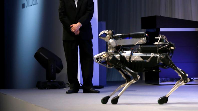Die Damen zuerst: Ingenieure von Boston Dynamics bringen Robo-Hunden Türöffnen und -halten bei