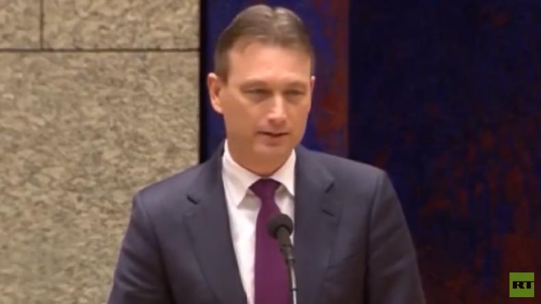 #LyingDutchman: Der niederländische Außenminister und seine Putin-Lüge (Video)
