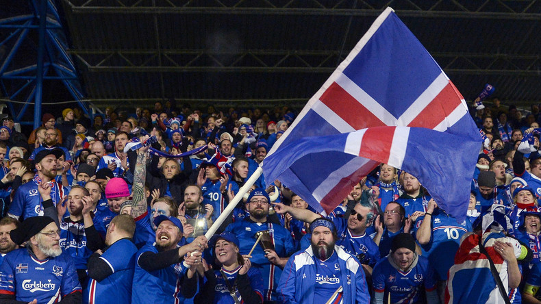 Mit Kind und Kegel: Jeder fünfte Isländer fährt zur Fußball-WM nach Russland