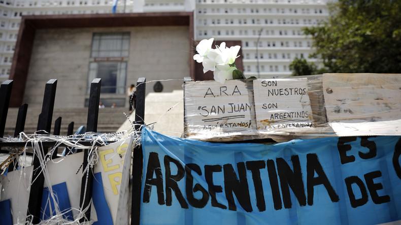 """""""ARA San Juan"""": Argentinien schreibt Millionen-Belohnung für Hinweise über verschollenes U-Boot aus"""