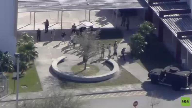 USA: Mehrere Verletzte und Tote nach Schießerei an Schule in Florida