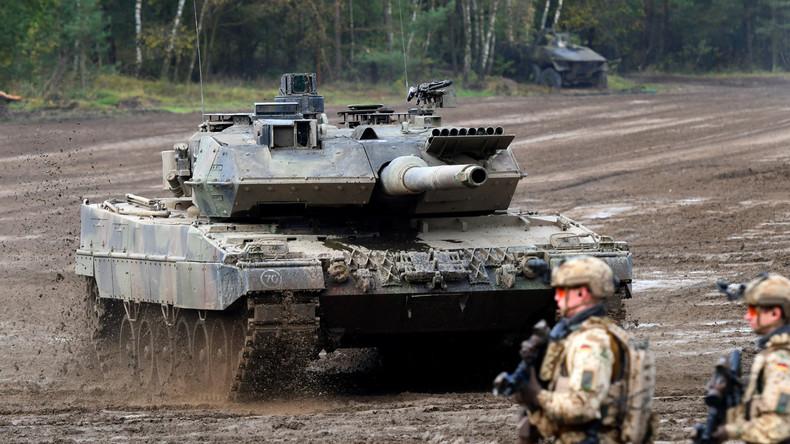 Bundeswehr mangelt es an einsatzbereiten Panzern für Nato-Aufgabe