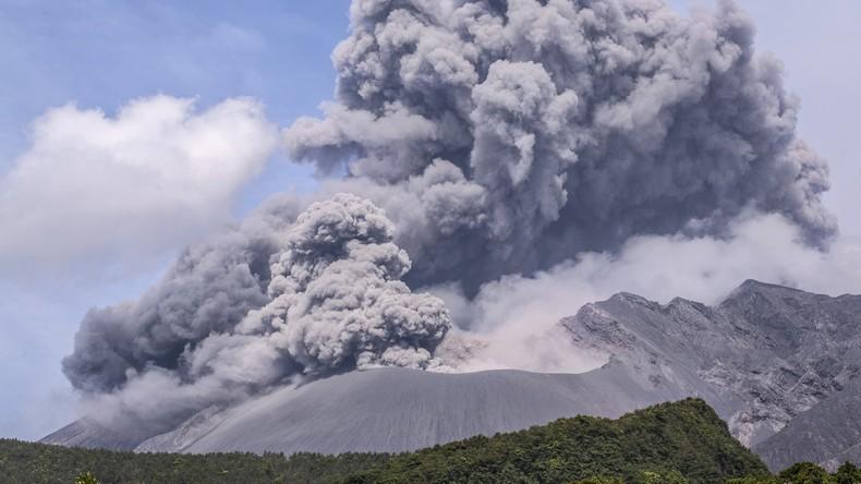 Über 40 Kubikkilometer Magma unter Wasser: Supervulkan könnte Japan total vernichten