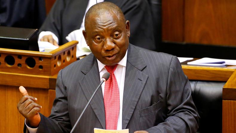 Cyril Ramaphosa ist neuer Präsident Südafrikas