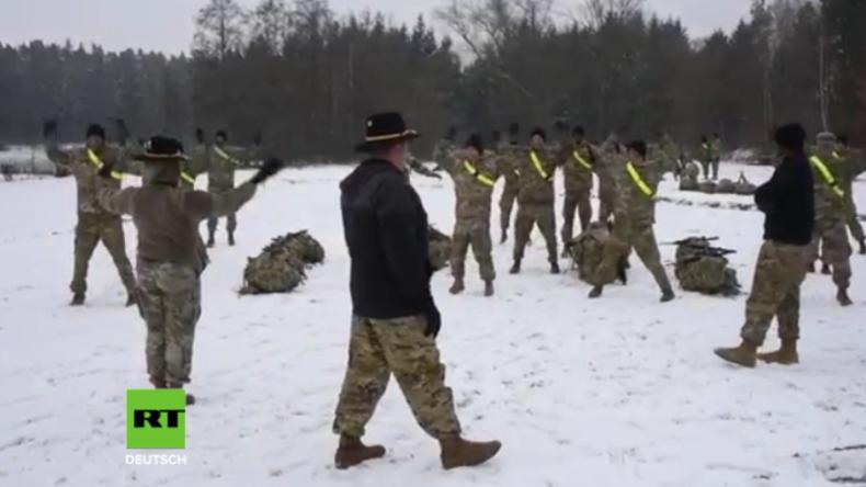 """US-Armee in Deutschland: """"Joggen und Hampelmänner"""" - Soldaten werden auf Fitness getestet"""