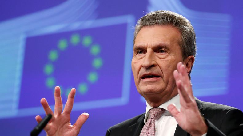 Oettinger: Deutschland wird Brexit-Lücke mit bis zu 3,5 Milliarden Euro füllen