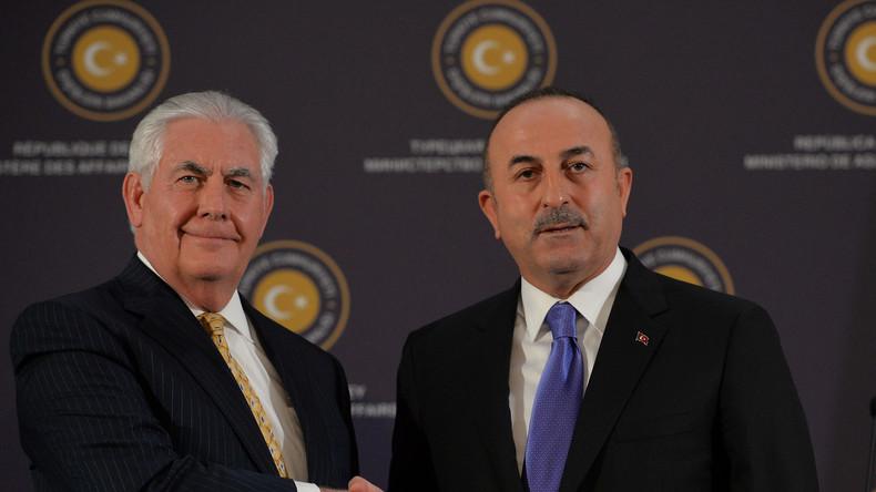 Diplomatische Krise: US-Außenminister Tillerson auf Türkei-Besuch (Video)