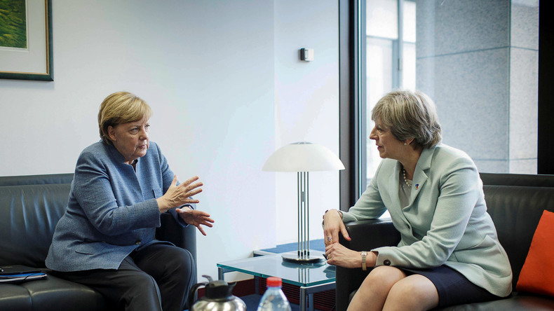 LIVE: Theresa May zu Besuch bei Angela Merkel in Berlin