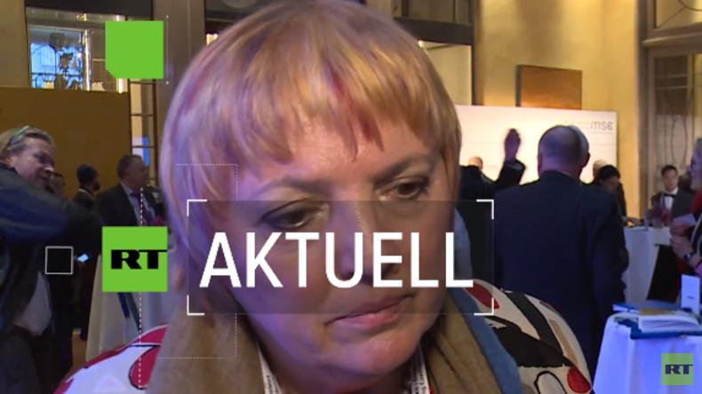Claudia Roth: Vorgehen der Türkei in Syrien ist brandgefährlich (Video)