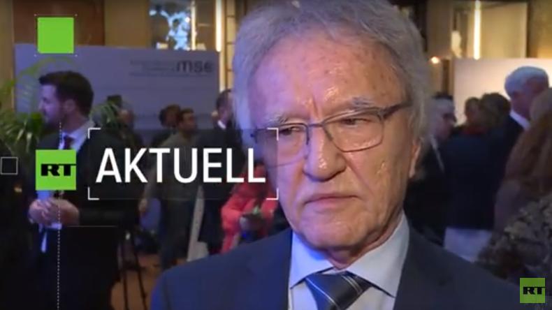 Horst Teltschik auf Münchener Sicherheitskonferenz: Die Militarisierung nimmt zu
