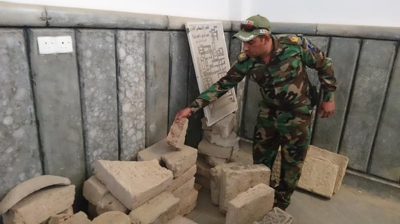 Irakische Behörden verhindern millionenschweren Antiquitätenschmuggel