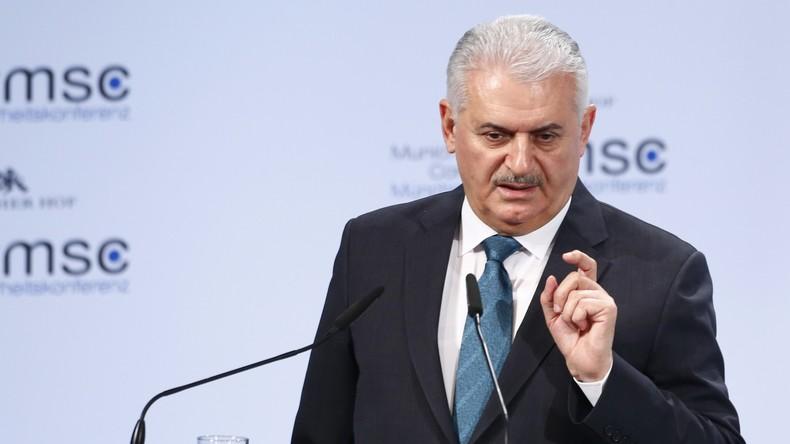 Türkischer Ministerpräsident wirft NATO-Partnern Kooperation mit Terroristen vor