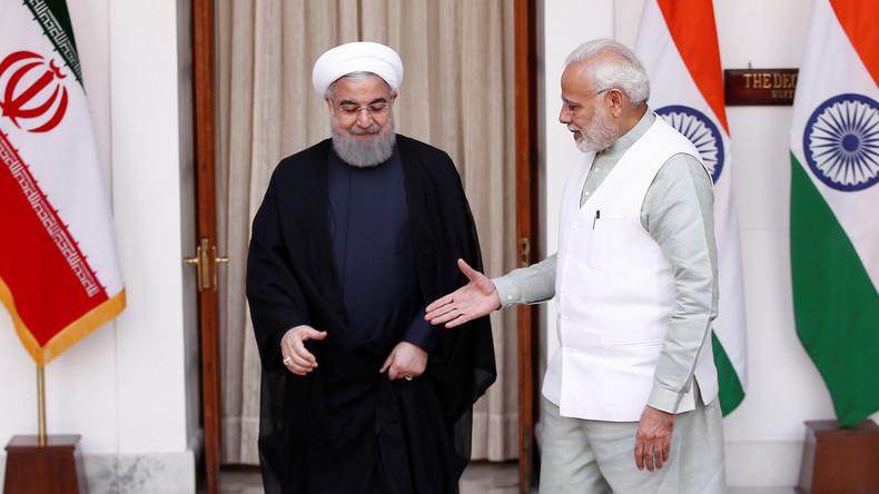 Indien und der Iran bauen Kooperation aus