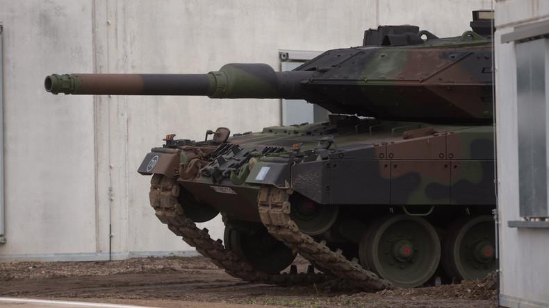 """Türkischer Ministerpräsident verteidigt Einsatz deutscher """"Leopard""""-Panzer in Syrien"""