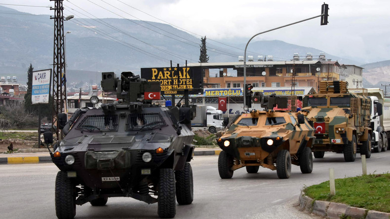 Berichte:  Syrische Armee zu Einmarsch gegen Türkei in Afrin bereit
