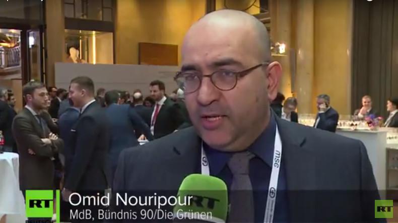 """MSC: Omid Nouripour hält """"Friedhofsruhe"""" in Syrien nicht für Stabilität (Video)"""