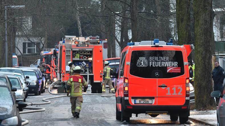 Berliner Hochhaus brennt viermal binnen fünf Tagen