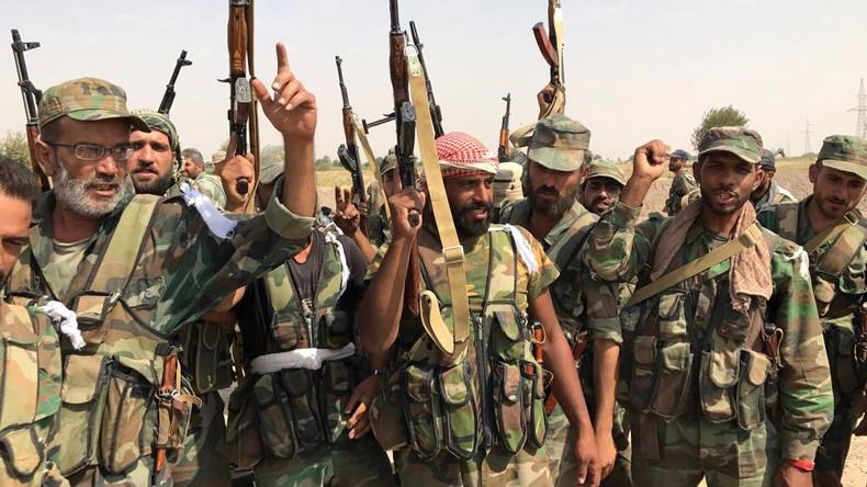 Syrisches Staatsfernsehen: Regierungstruppen werden innerhalb von Stunden in Afrin einmarschieren