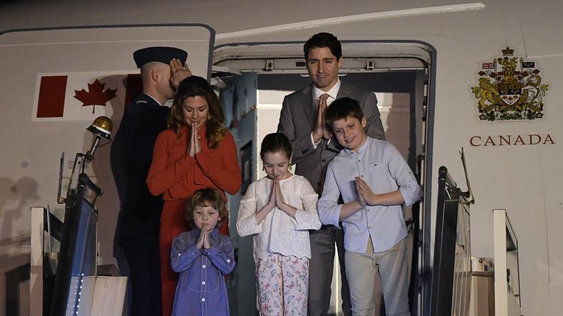 Kanadischer Premier Trudeau in Indien: Eisiger Empfang von Modi