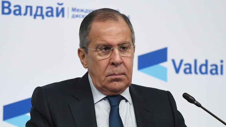Lawrow warnt vor Spekulationen über getötete russische Bürger in Syrien