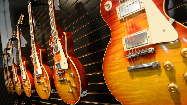 US-Gitarrenbauer Gibson droht Bankrott