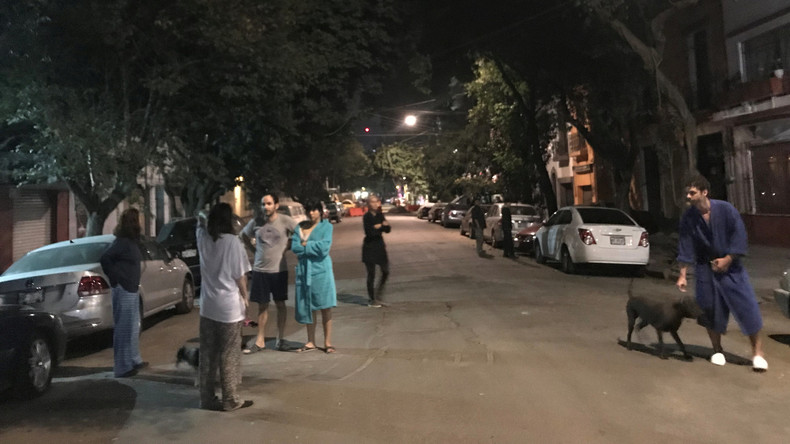 Südmexiko von Nachbeben der Stärke 5,9 heimgesucht