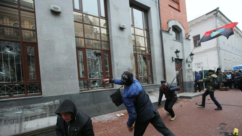 Russisches Außenministerium: Washington inspirierte Angriffe auf russisches Kulturzentrum in Kiew