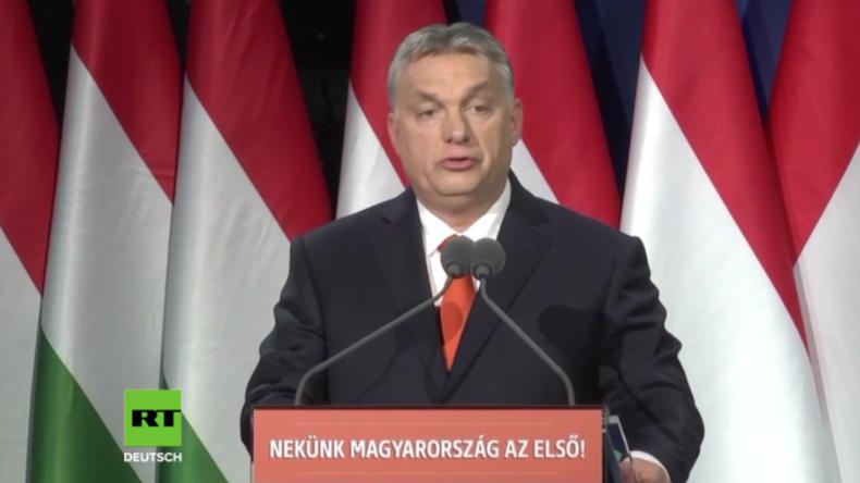 """""""Migranten werden europäische Großstädte besetzen""""  - Orban warnt vor gewolltem Asylchaos in der EU"""