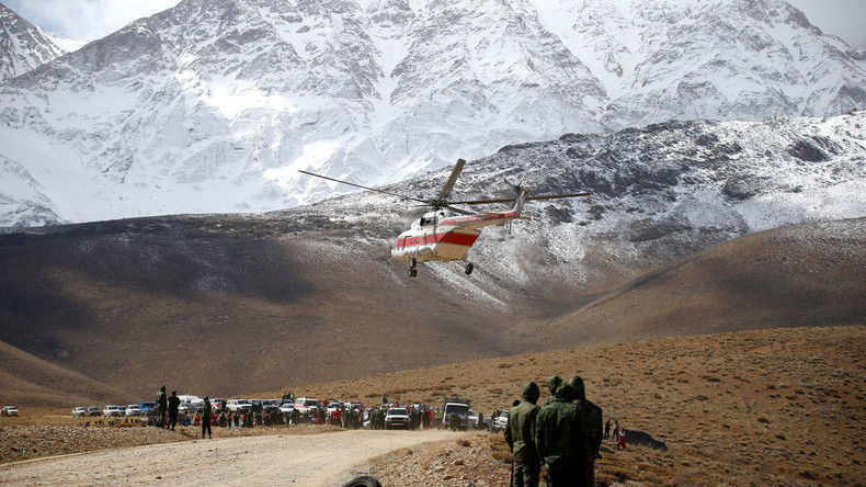 Zwei Tage nach Katastrophe mit 66 Todesopfern: Absturzort der Aseman-Air-Maschine im Iran gefunden