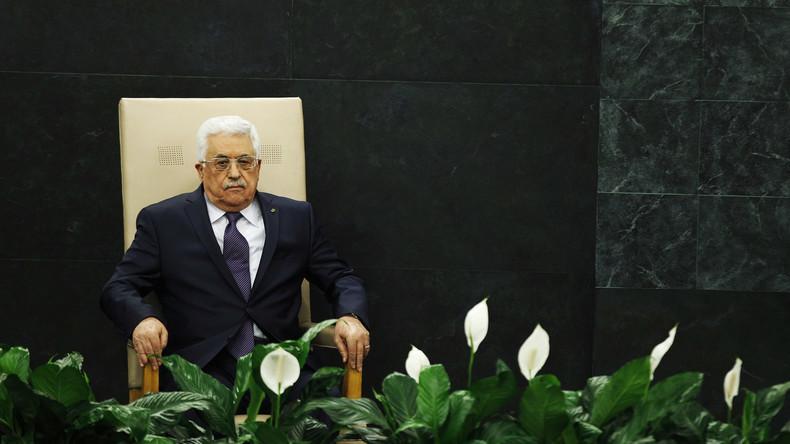 Live: Palästinenser Präsident Mahmud Abbas hält Rede vor UN-Sicherheitsrat