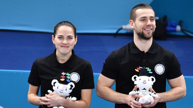 Olympia: Russischer Curler Kruschelnizki angeblich gedopt - Sportler vermutet Manipulation (Video)