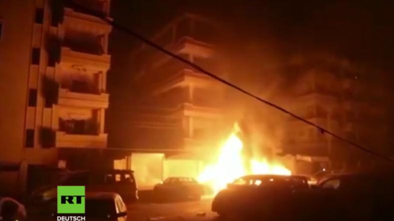 Afrin: Türkische Granaten in Wohngebiet eingeschlagen
