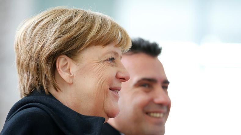 LIVE ab 13.15 Uhr: Kanzlerin Merkel und mazedonischer Präsident Gjorge Ivanov geben Pressekonferenz