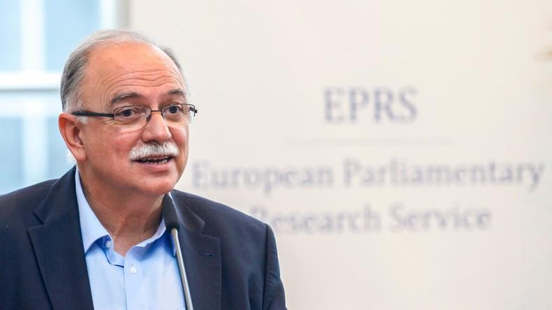 """Griechischer EP-Vize im RT Deutsch-Interview: """"Distanz zur EU wäre großer strategischer Fehler"""""""
